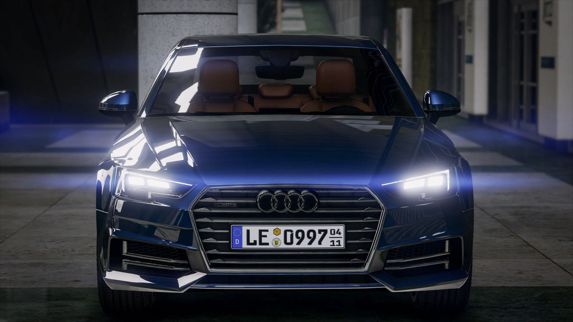 2017 audi a4 add on gta5. Black Bedroom Furniture Sets. Home Design Ideas