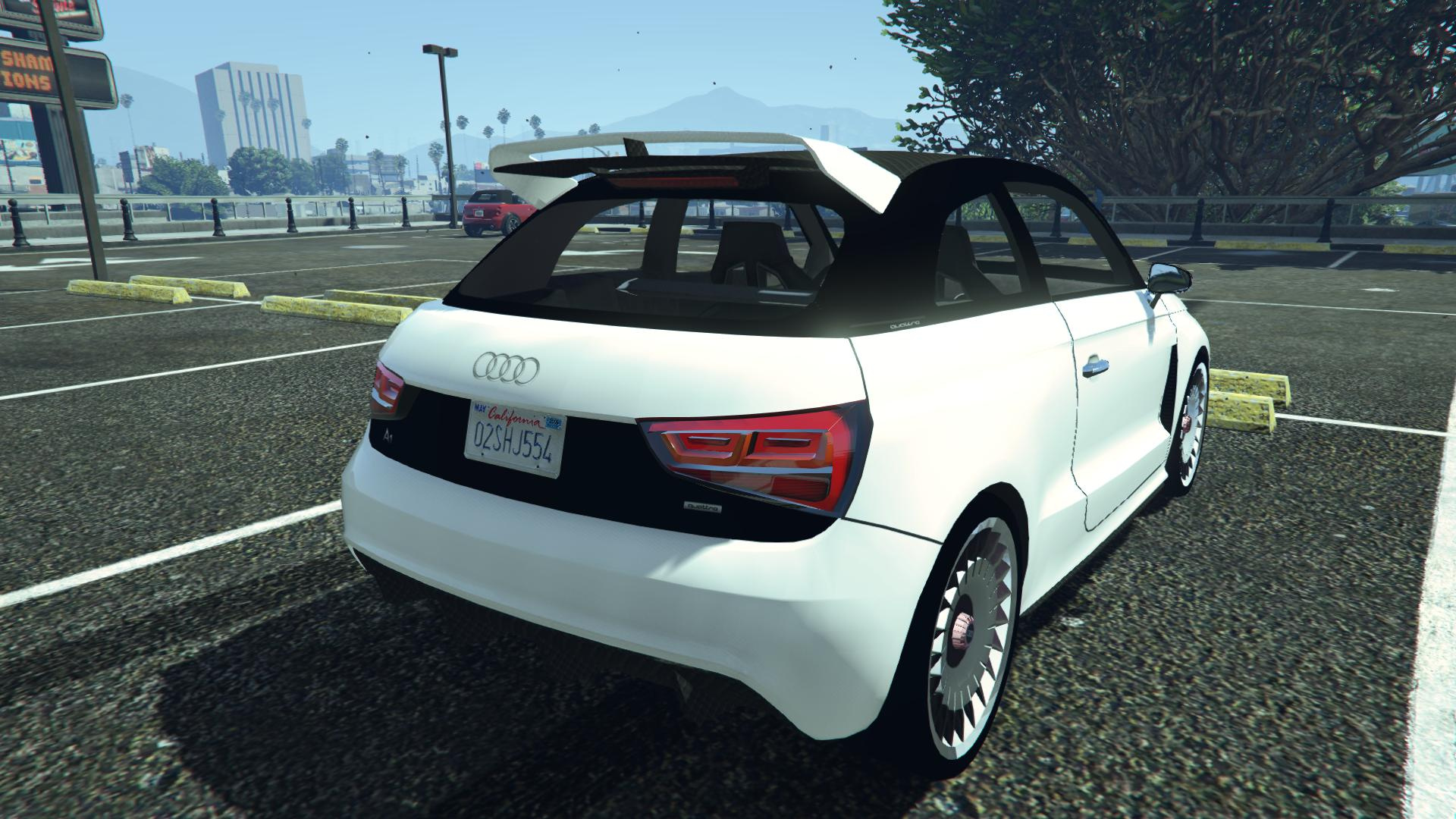 audi a1 clubsport quattro add on replace gta5. Black Bedroom Furniture Sets. Home Design Ideas