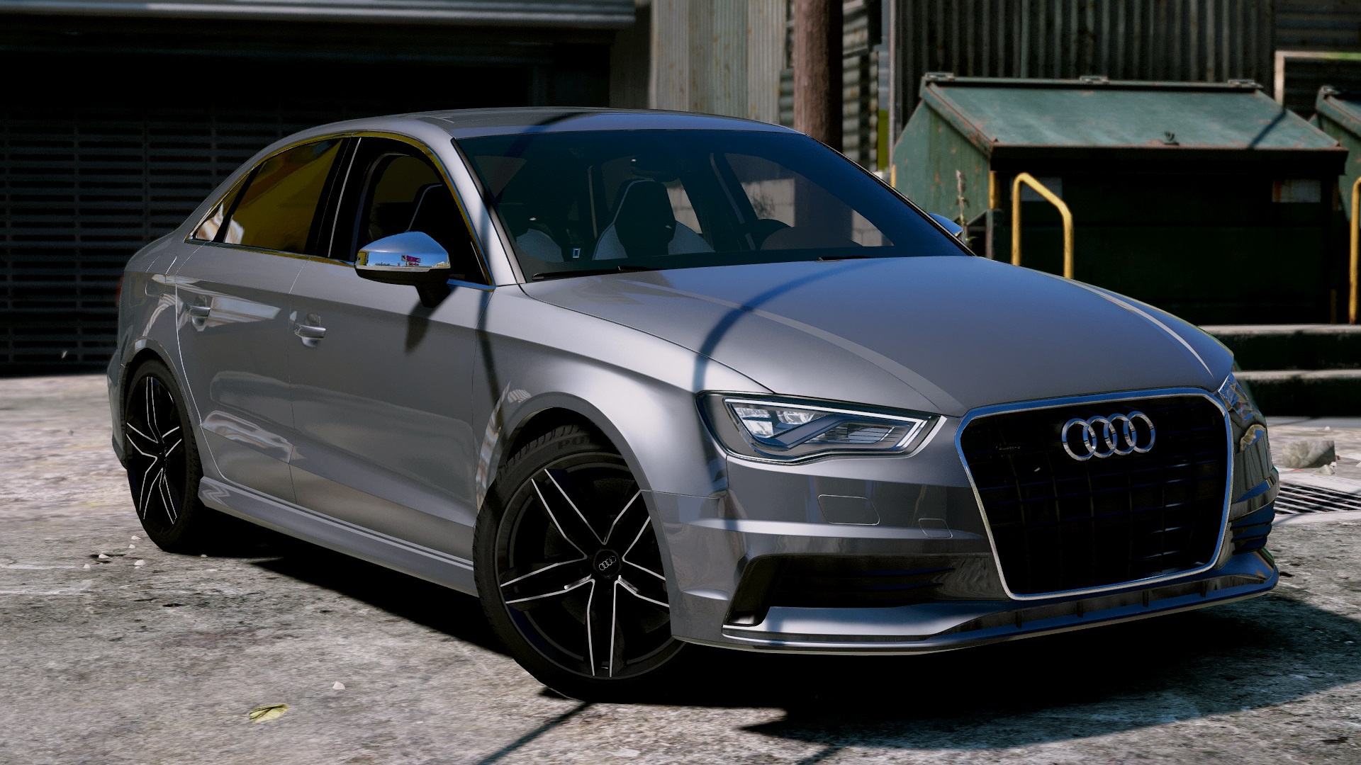 audi a3 sedan 2 0t 2015 gta5. Black Bedroom Furniture Sets. Home Design Ideas