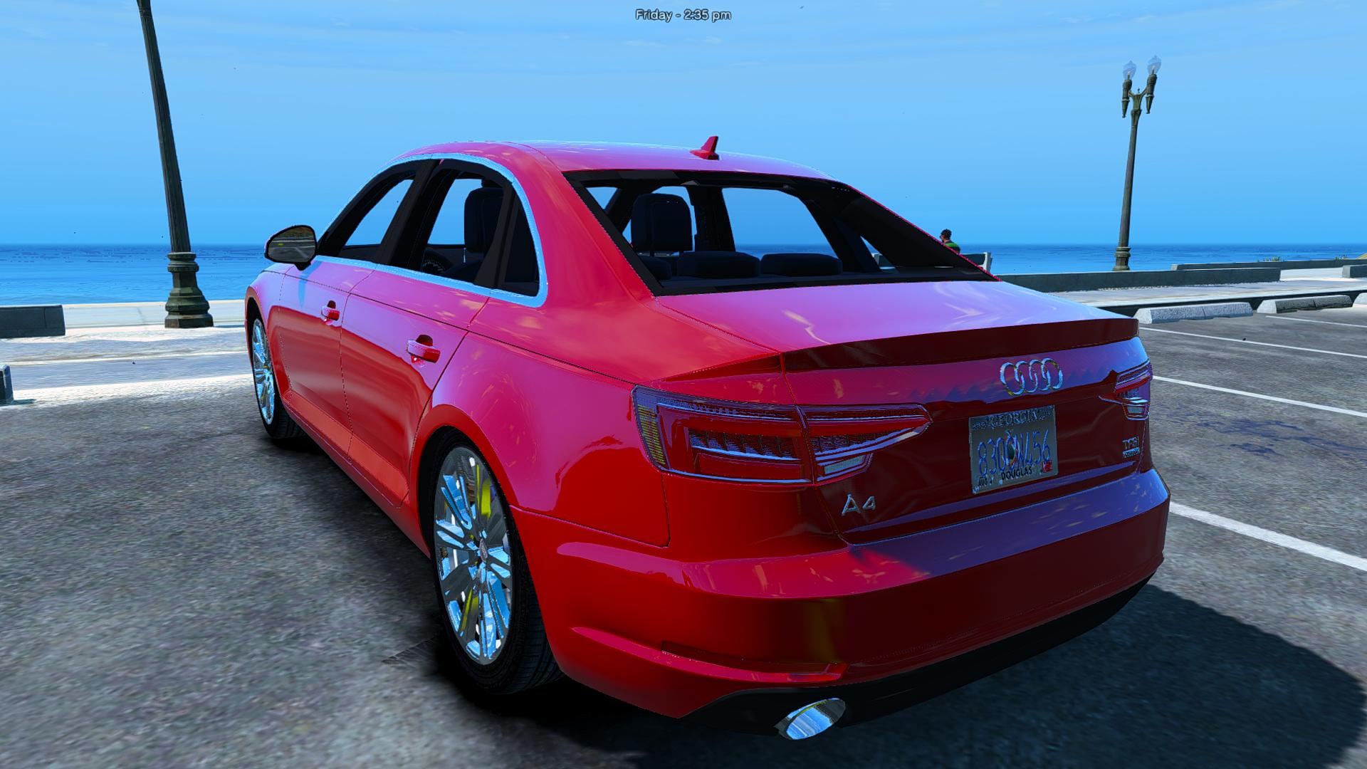 audi a4 tfsi quattro 2017 add on replace gta5. Black Bedroom Furniture Sets. Home Design Ideas