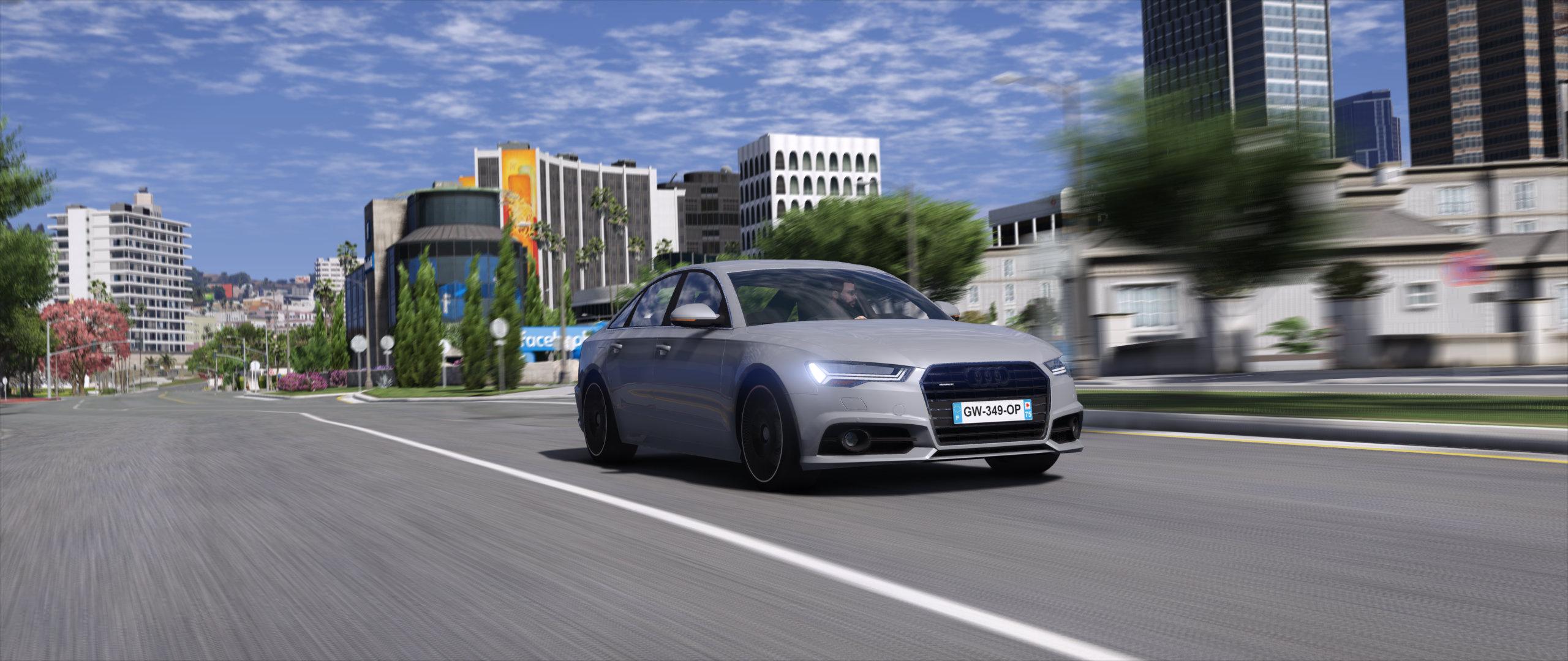Audi A6 2015 Add On Replace Gta5 Mods Com