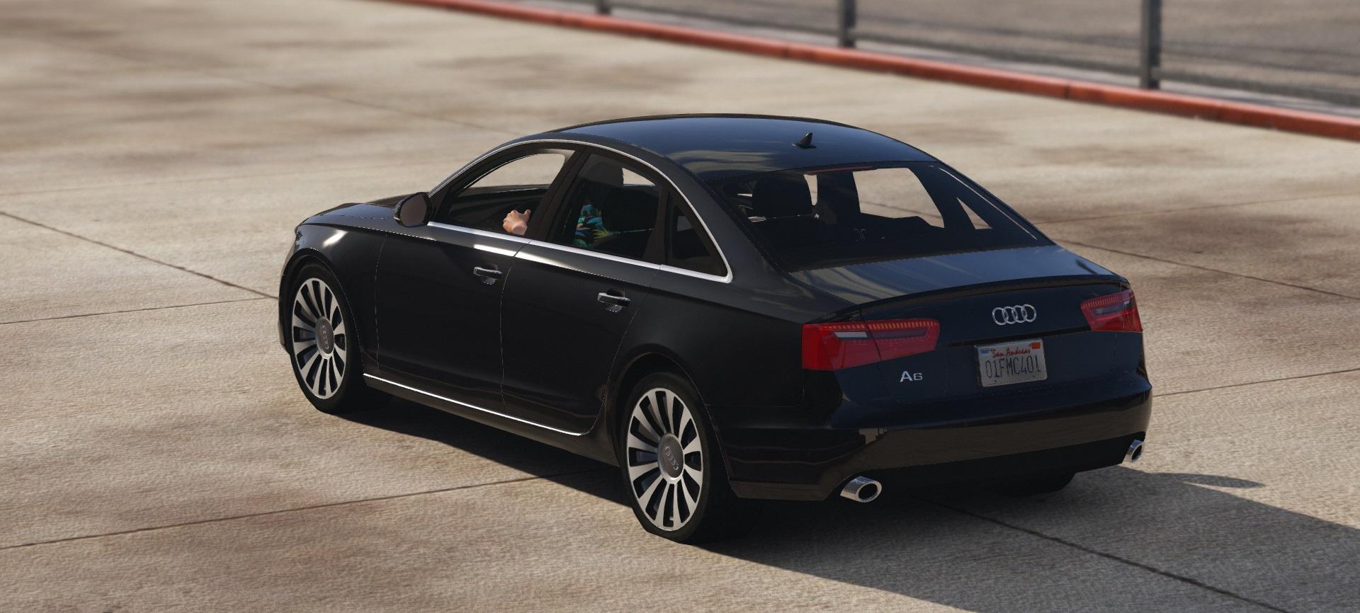 Audi A6 C7 Limousine Gta5 Mods Com