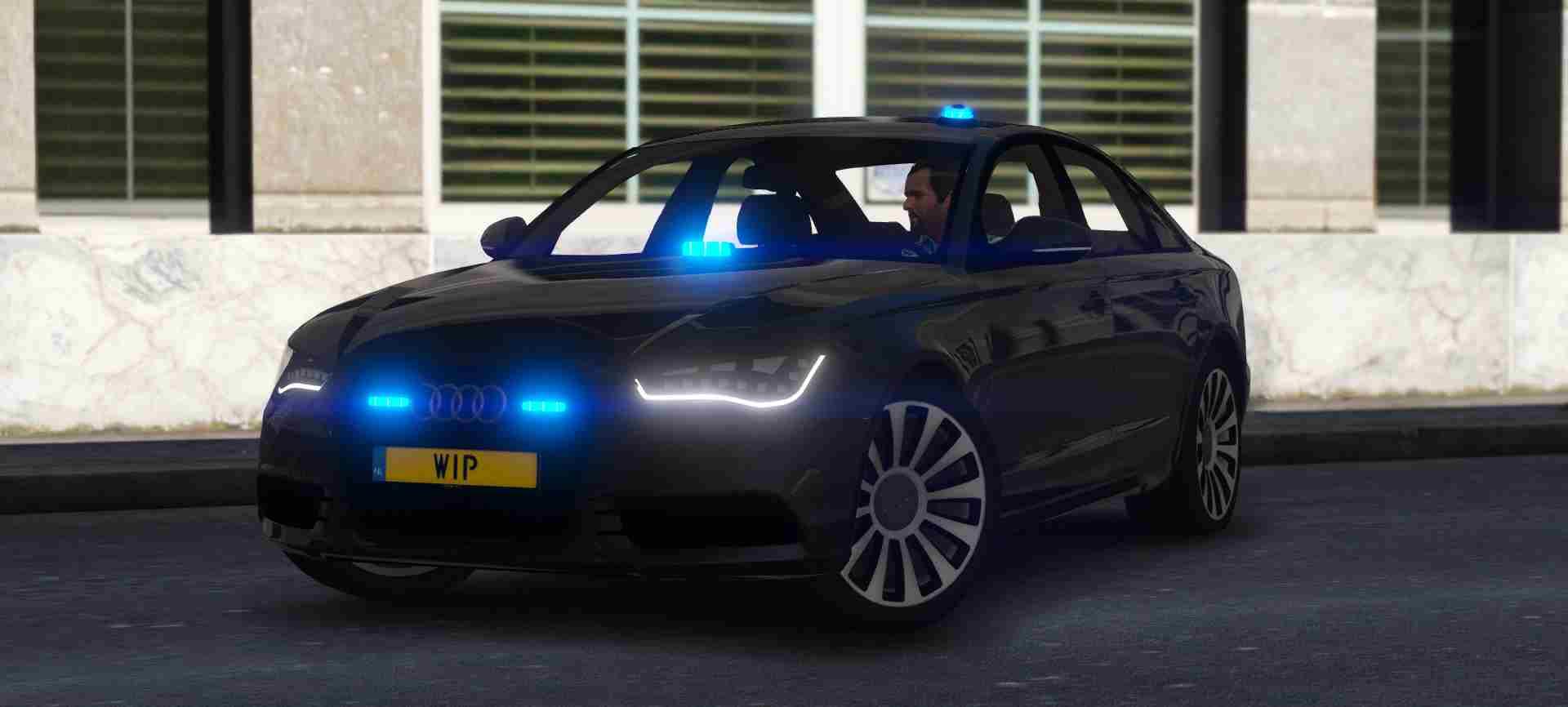 Audi A6 c7 Politie Arrestatieteam - GTA5-Mods com