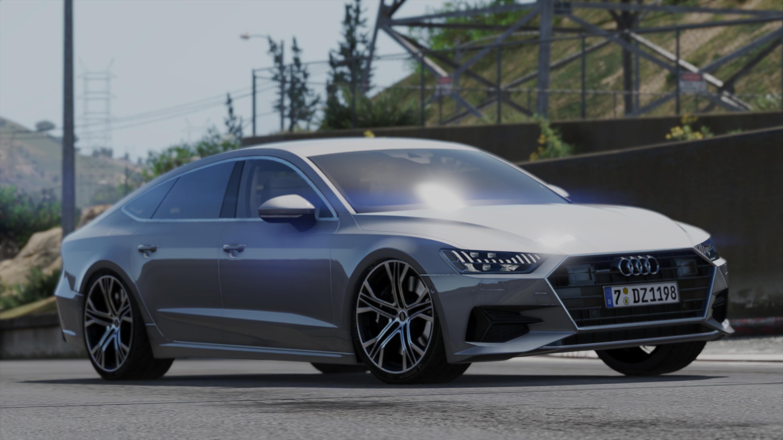 Audi A7 Sportback 2018 Add On Replace Gta5 Mods Com