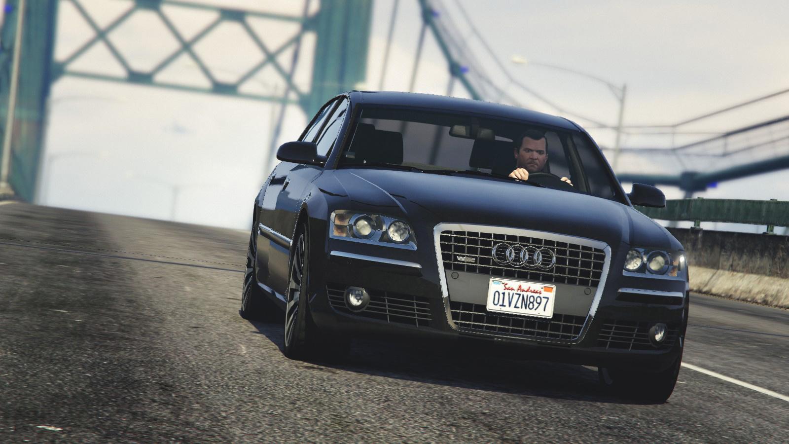 Audi A AddOn Replace GTAModscom - Audi car gta 5