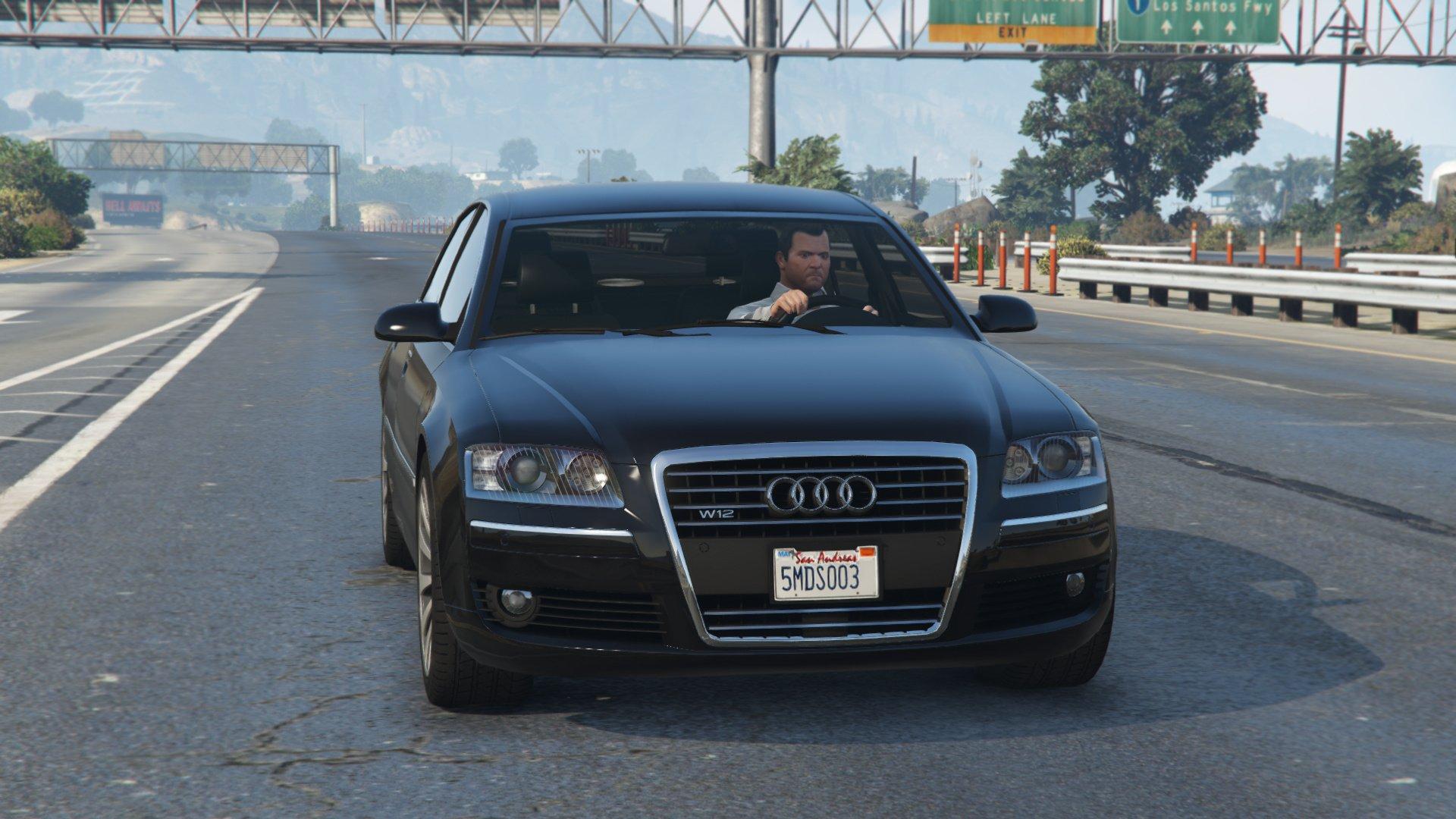 【GTA5】マイケルの愛車!改造可能 アウディ A8