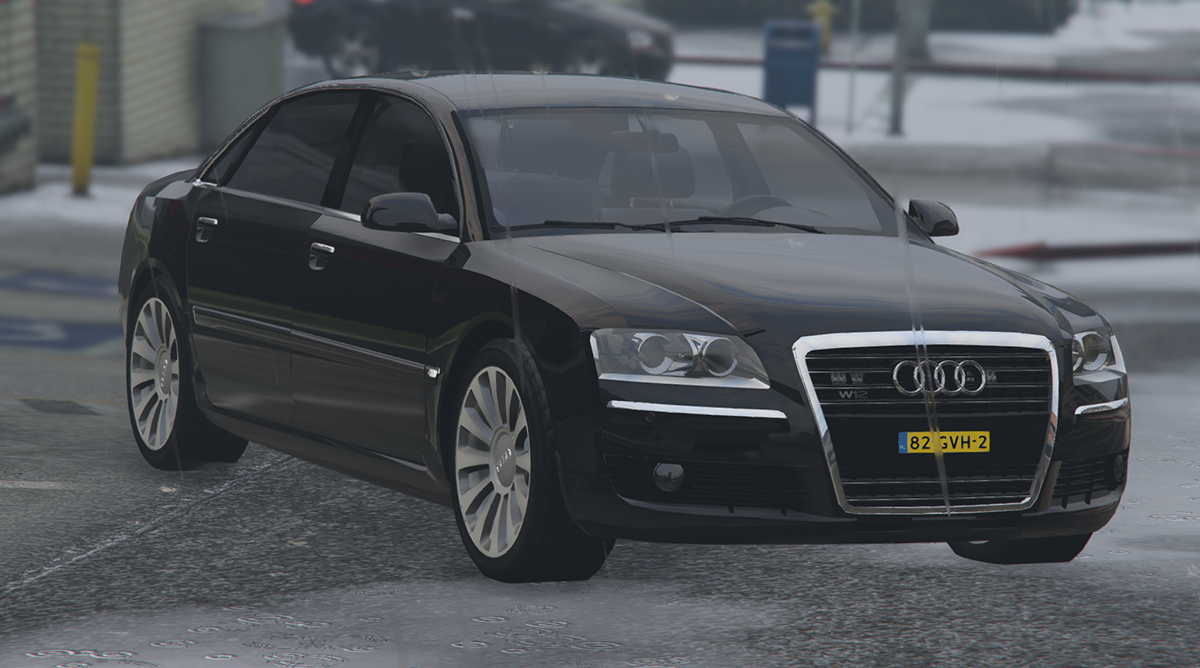 audi a8 w12 politie gta5. Black Bedroom Furniture Sets. Home Design Ideas