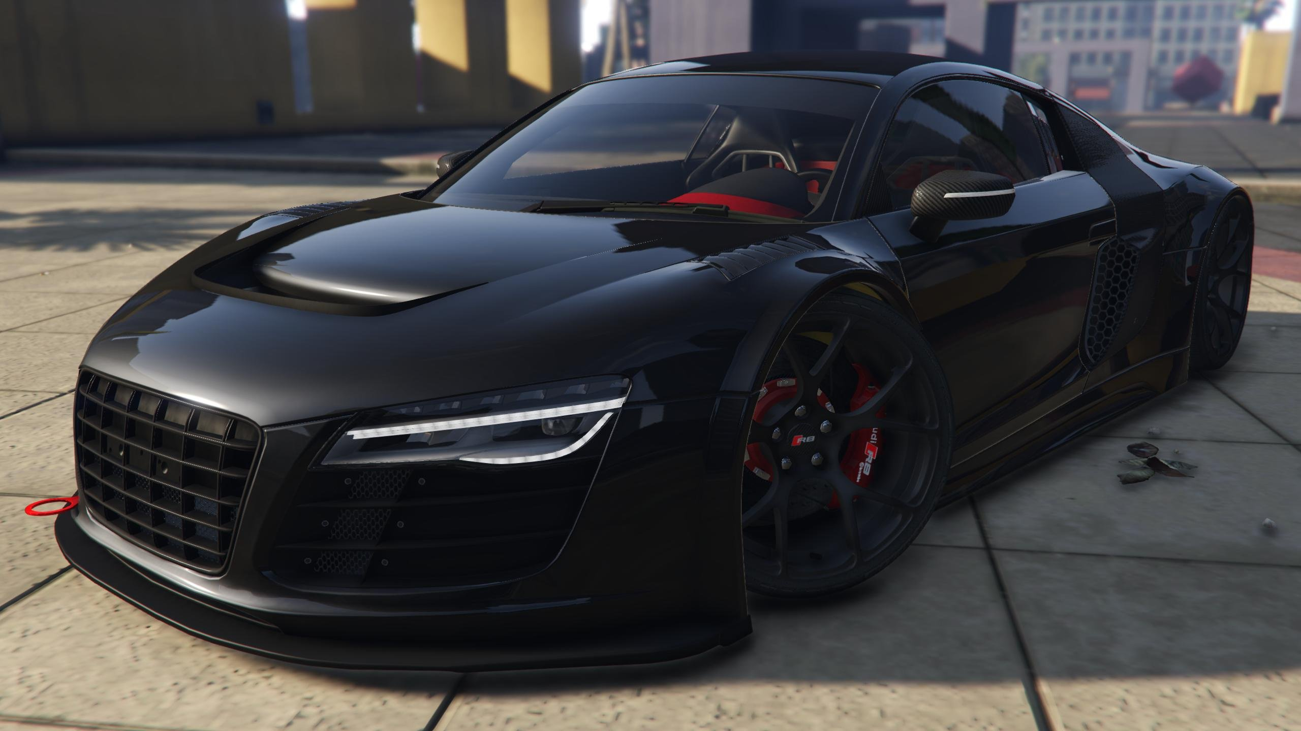 Audi R8 Lms Street Custom Add On Gta5 Mods Com