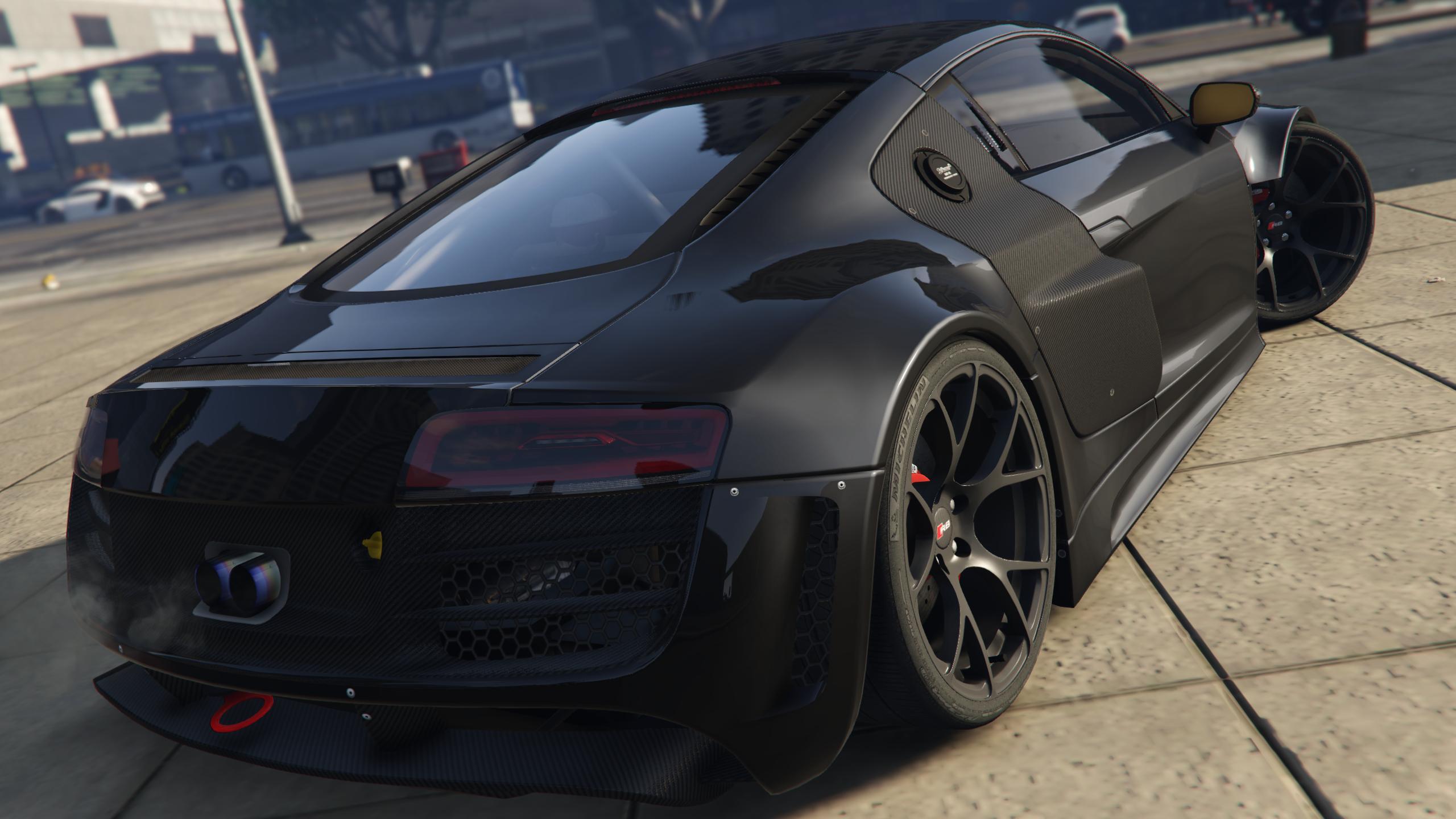 Audi R LMS Street Custom AddOn GTAModscom - Audi custom