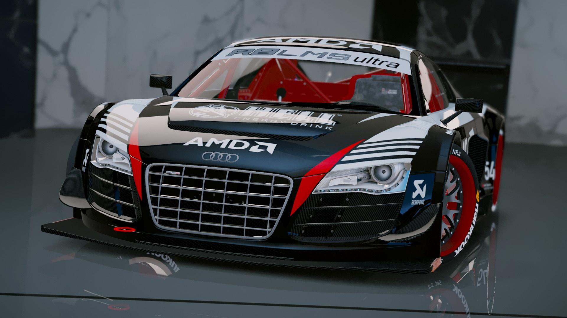 Audi R8 Lms Ultra Racecar Add On Gta5 Mods Com