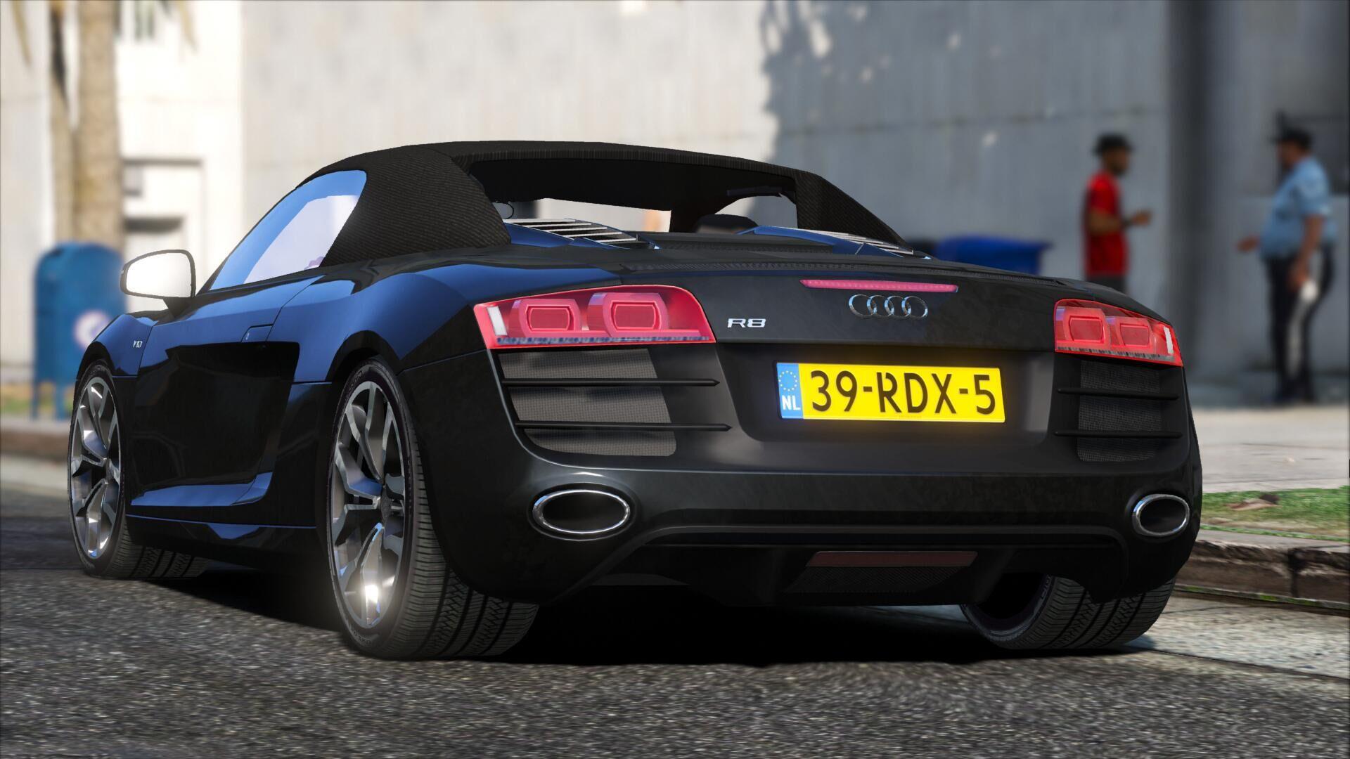 Audi R Spyder GTAModscom - Audi spyder