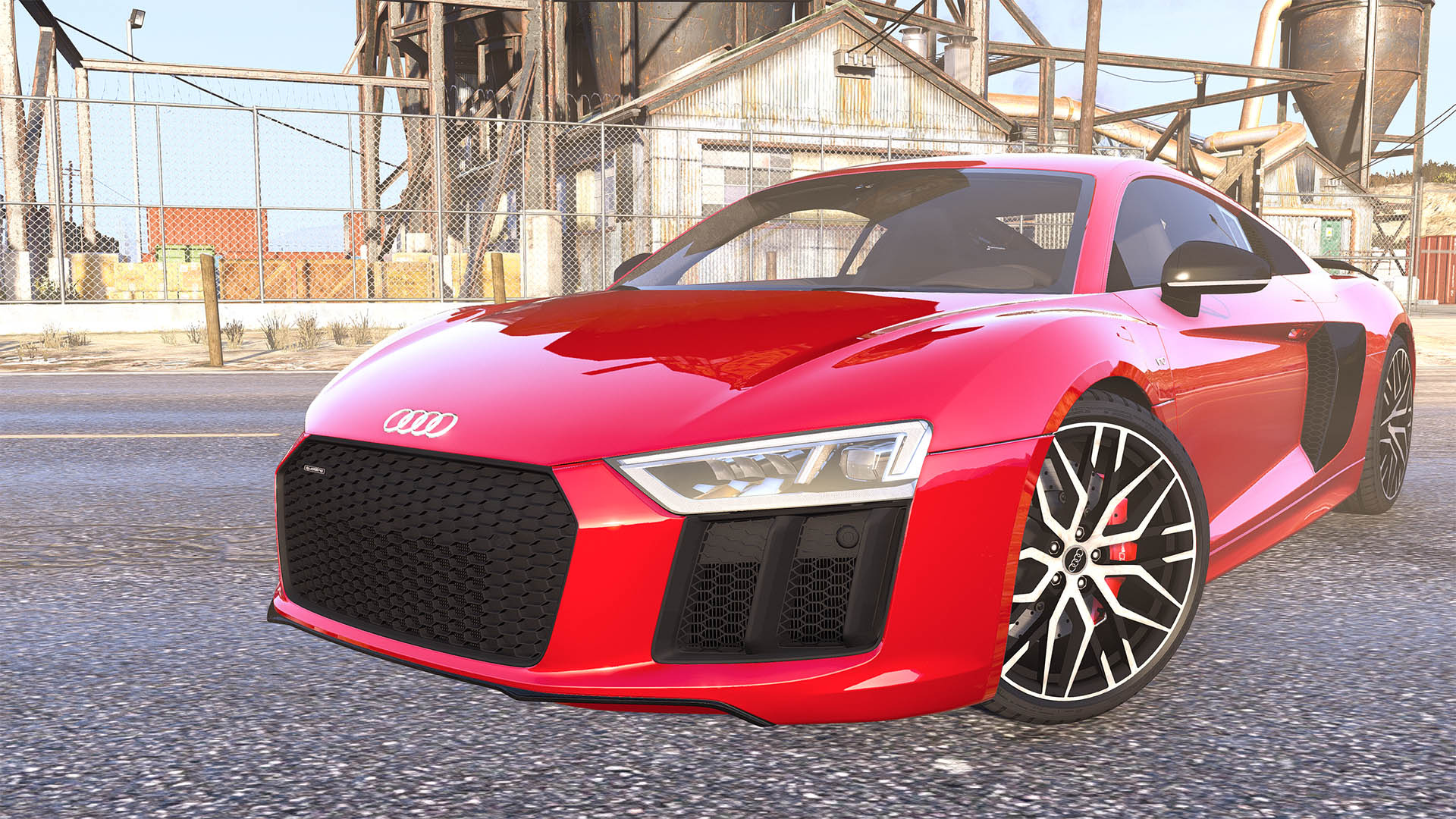 Audi R8 V10 Plus 2017 [Add-On / Replace | Animated
