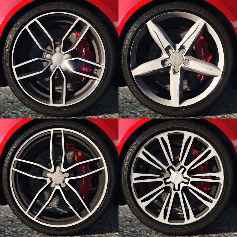 Audi Rims Pack GTAModscom - Audi rims