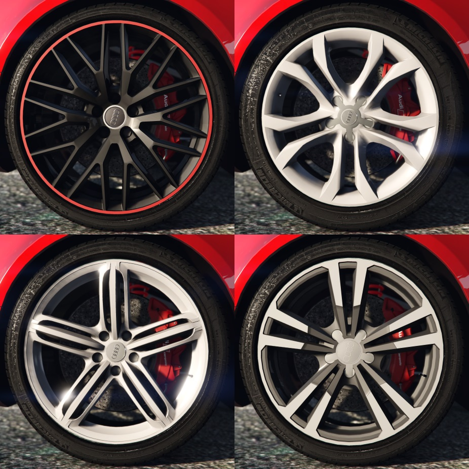 Audi Rims Pack
