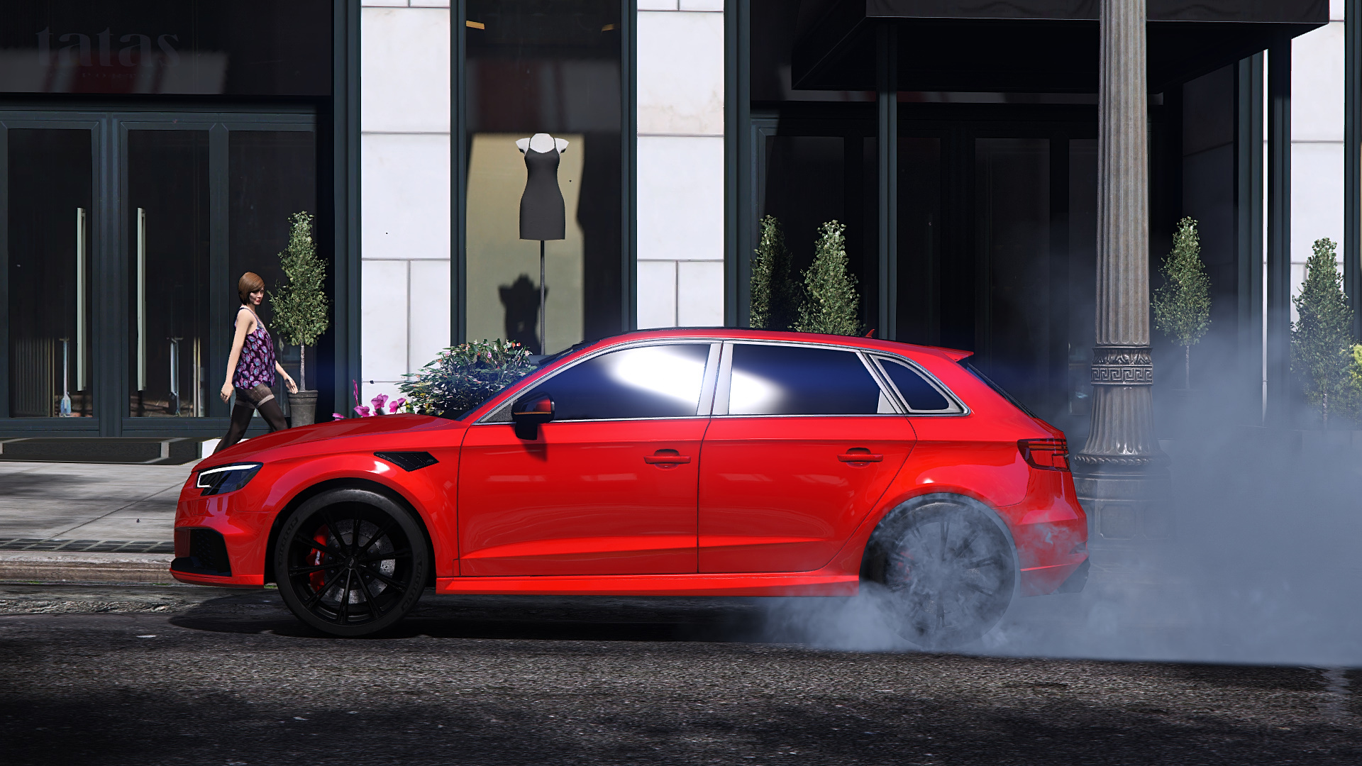 Audi Rs3 Sportback 2018 Add On Tuning Abt Gta5 Mods Com