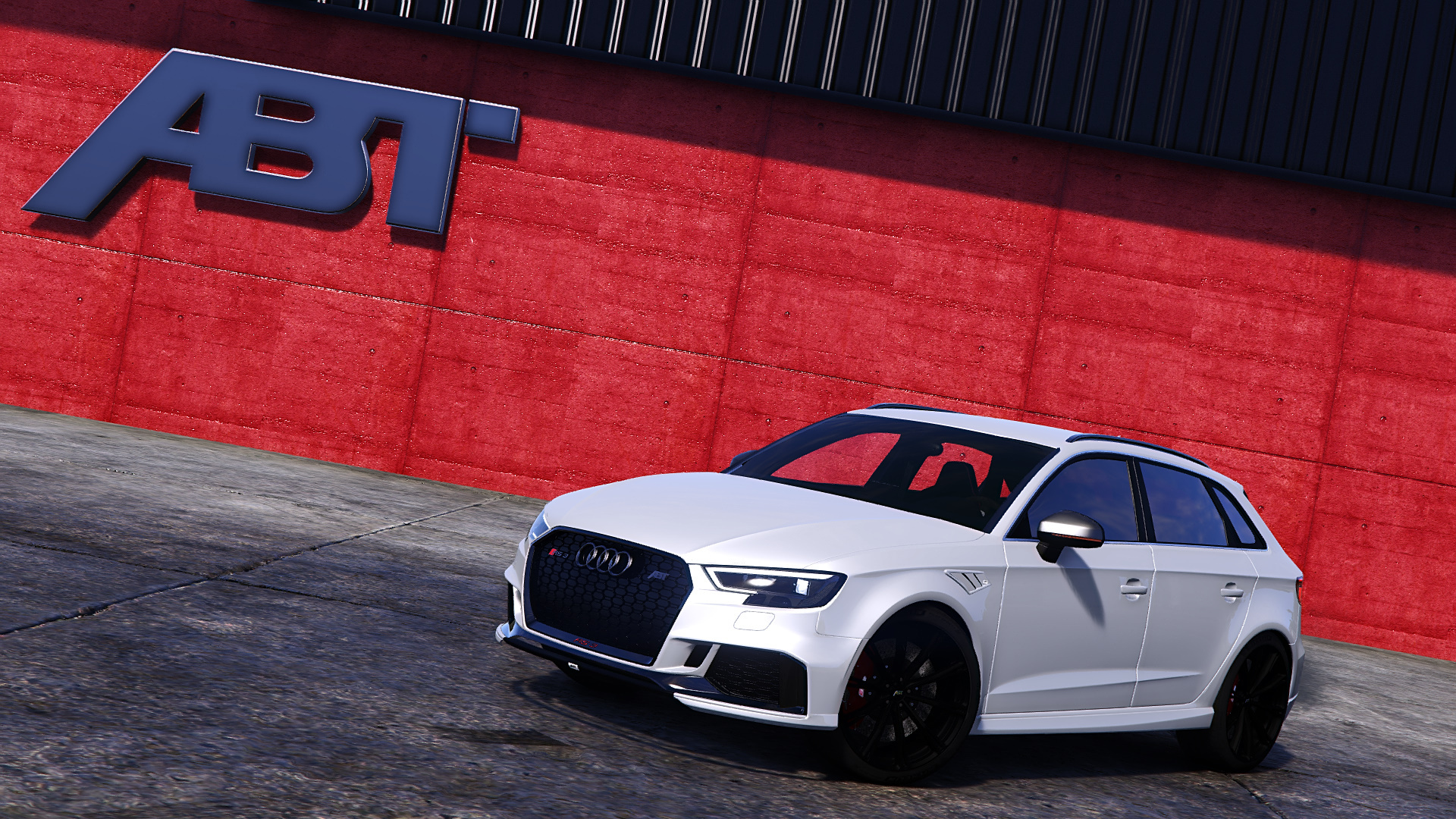 Audi Rs3 Sportback 2018 Add On Tuning Wheel Abt Gta5