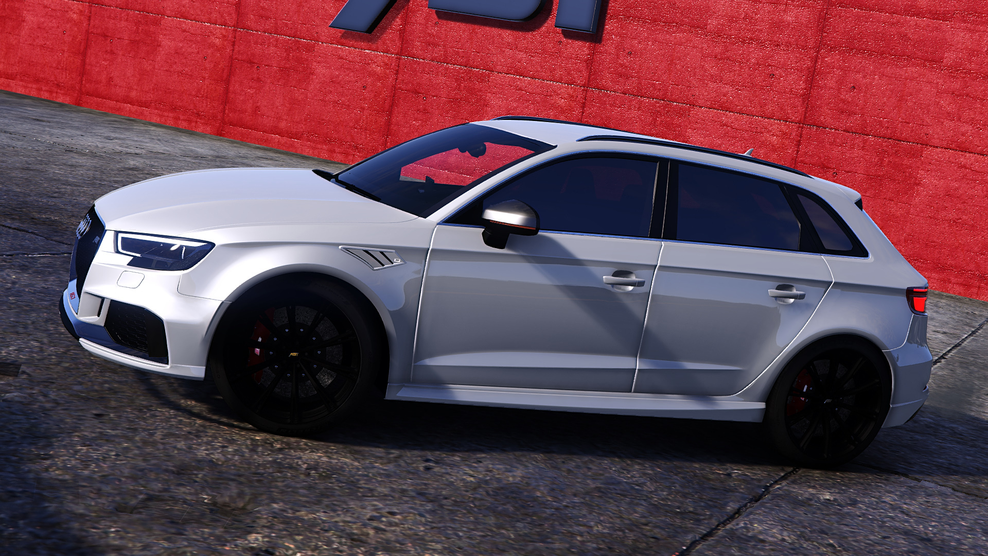 audi rs3 sportback 2018 add on tuning abt gta5. Black Bedroom Furniture Sets. Home Design Ideas