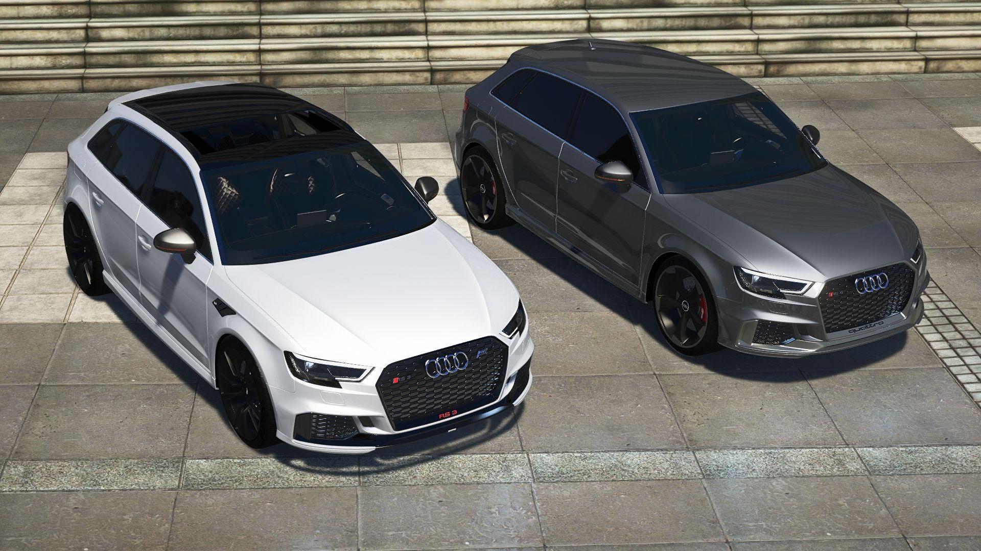Audi RS3 Sportback 2018 [Add-on/Tuning+wheel-ABT] - GTA5