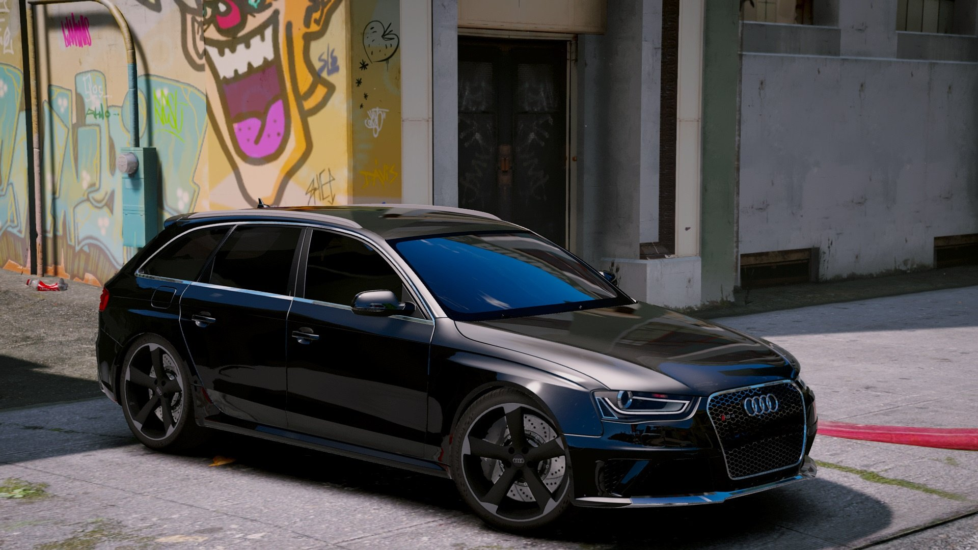 Audi Rs4 Avant 2013 Add On Tuning Gta5 Mods Com