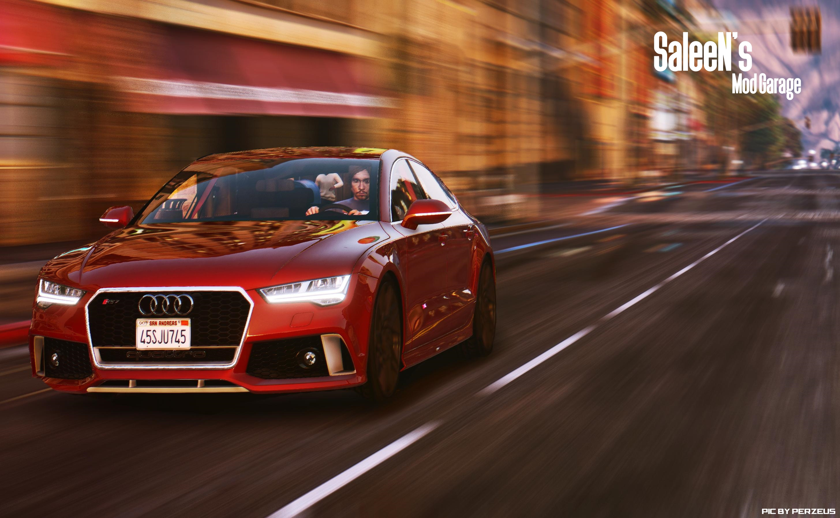 2015 Audi Rs7 Sportback Add On Replace 2017 With A Red Colour 0e3ce0 Ucunbl1