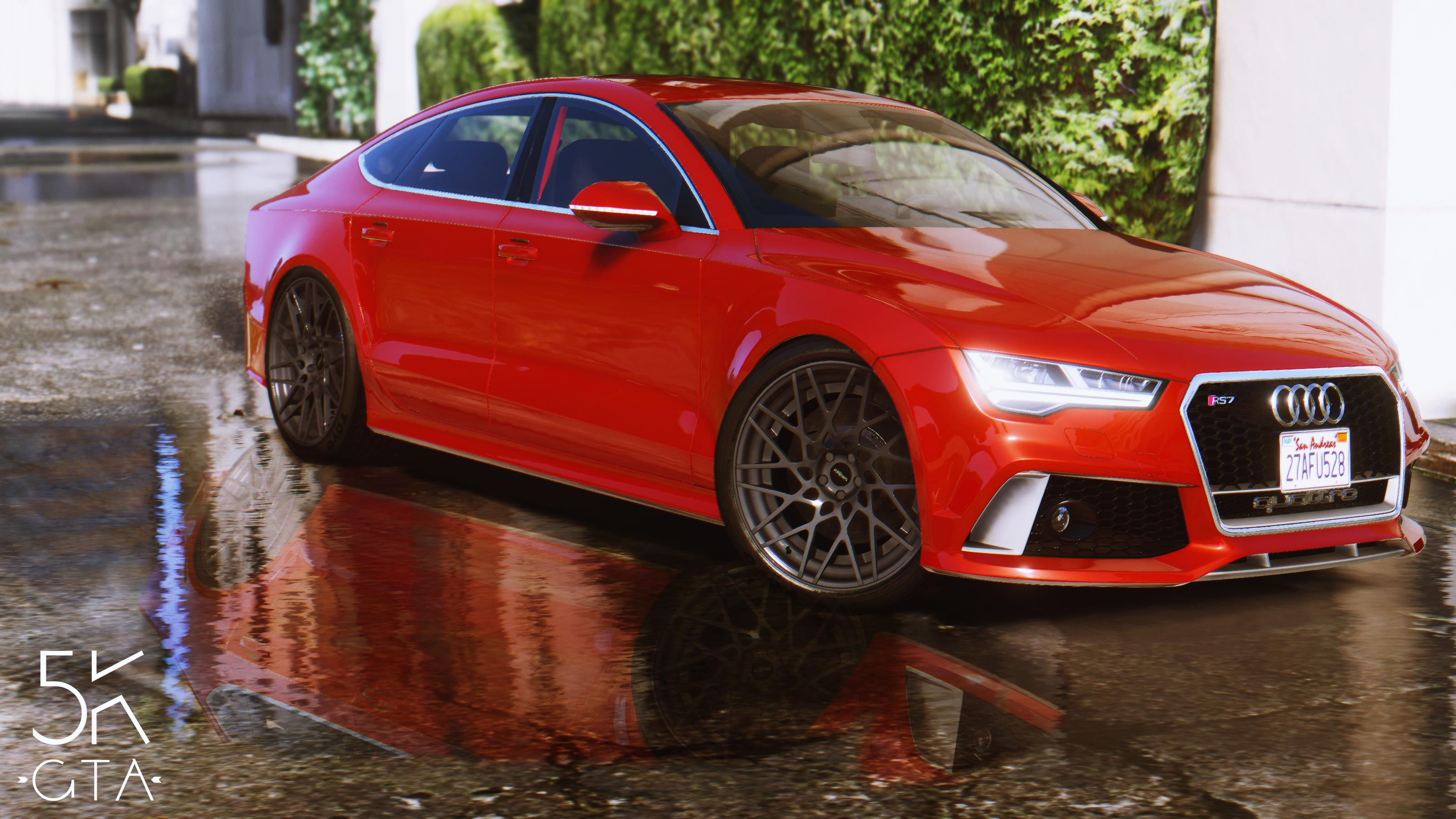 2015 Audi Rs7 Sportback Add On Replace 2017 With A Red Colour 8930f3 Pp6dvun