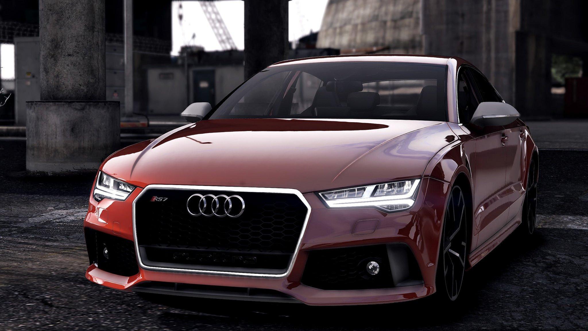Audi Rs7 2017 Interior >> Audi RS7 Sportback [Add-On / Replace] - GTA5-Mods.com