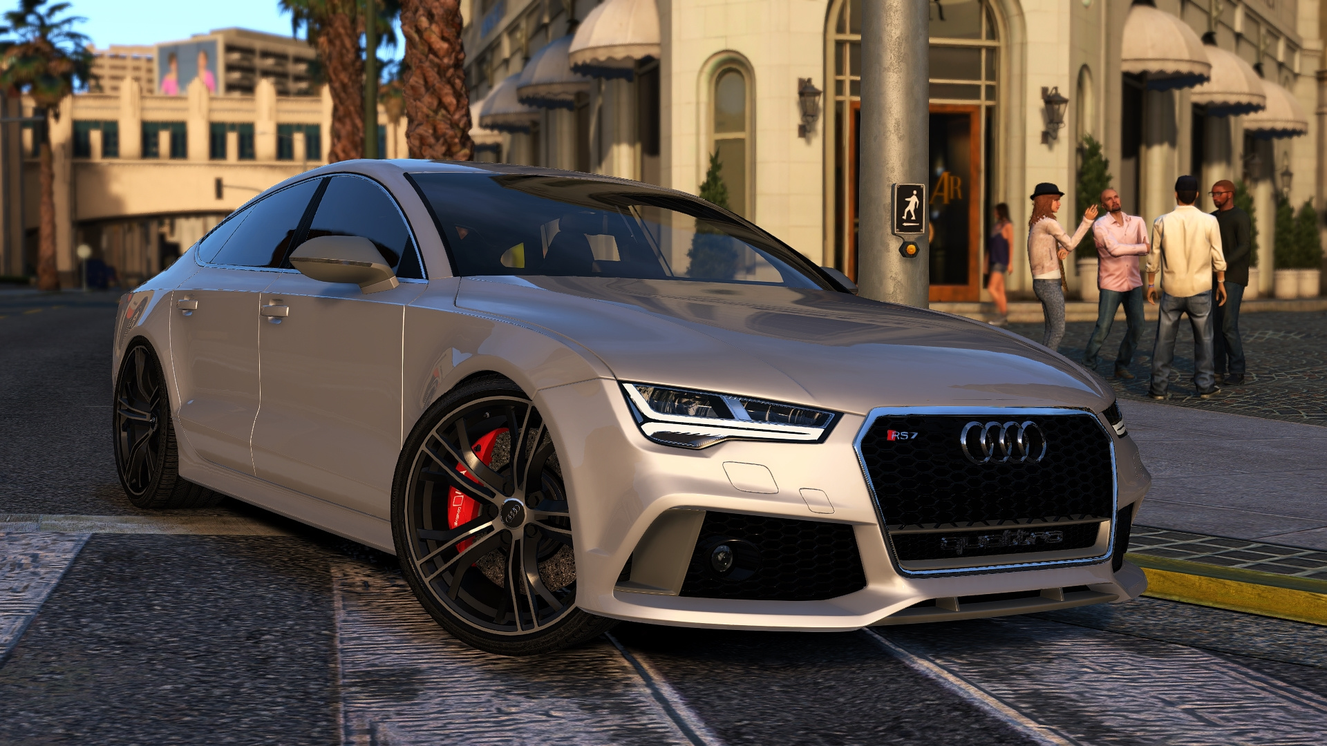 2015 Audi Rs7 Sportback Add On Replace Gta5 Mods Com