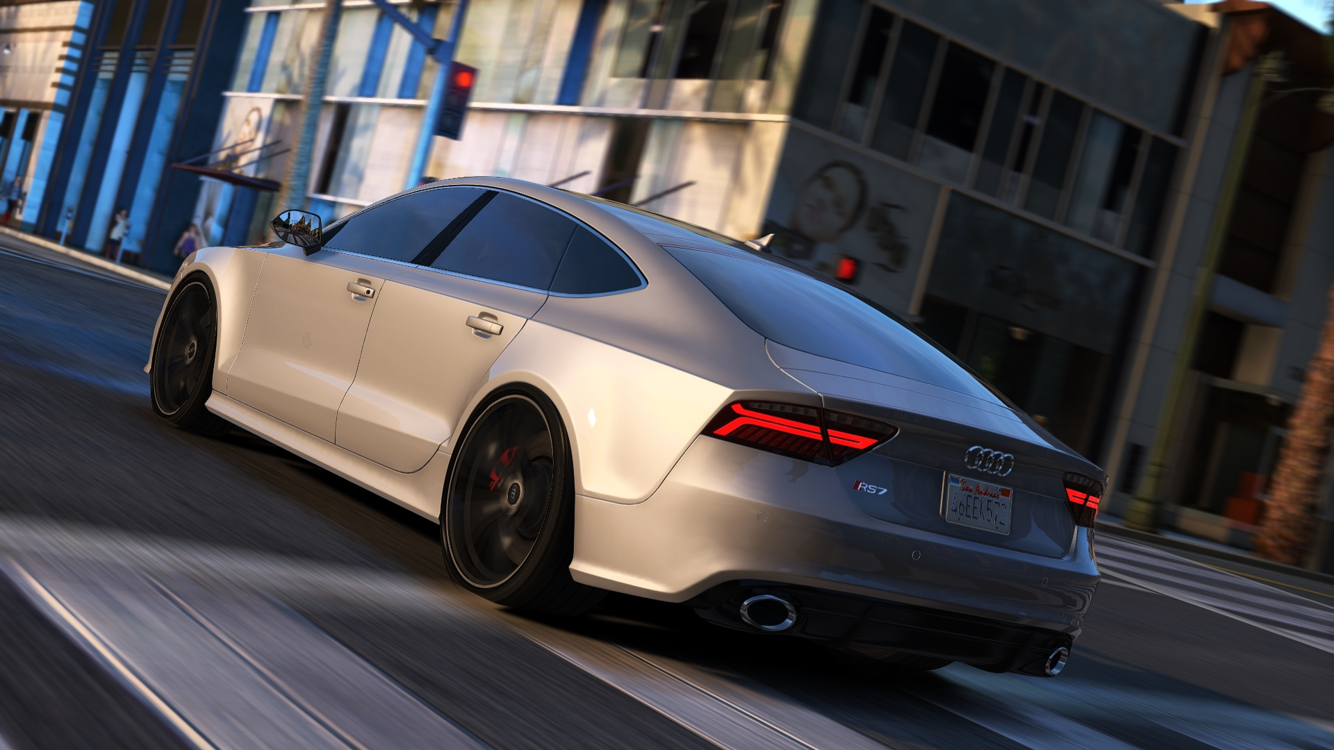 Audi Rs7 Sportback Add On Replace Gta5 Mods Com