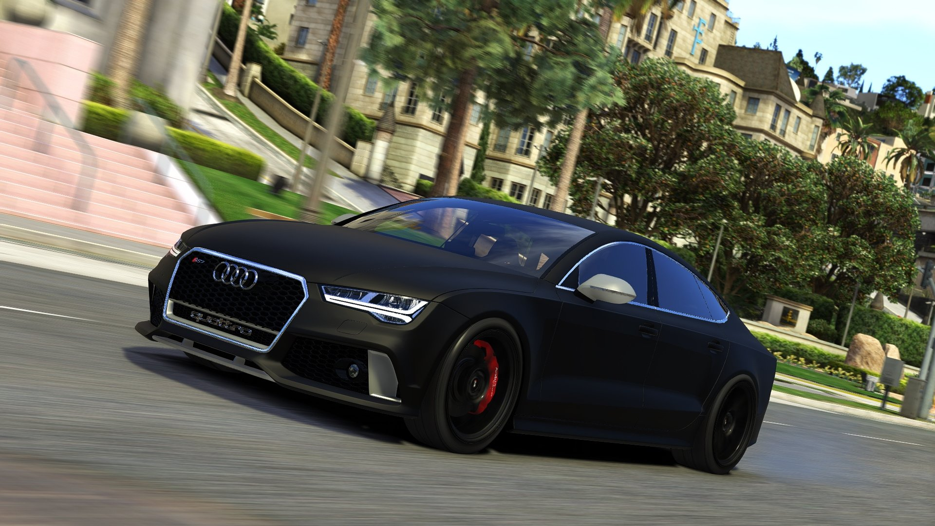 2015 audi rs7 sportback addon replace gta5modscom