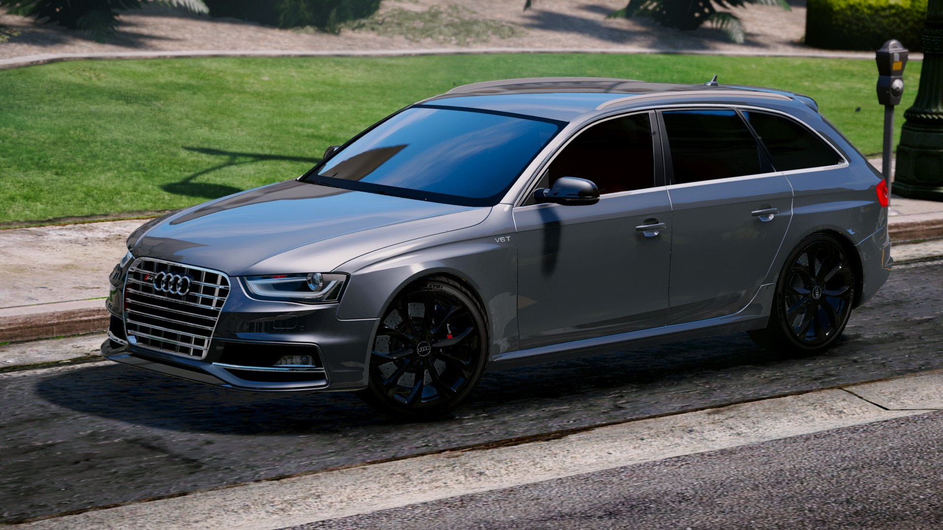 Audi S4 Avant 2013 Add On Replace Gta5 Mods Com