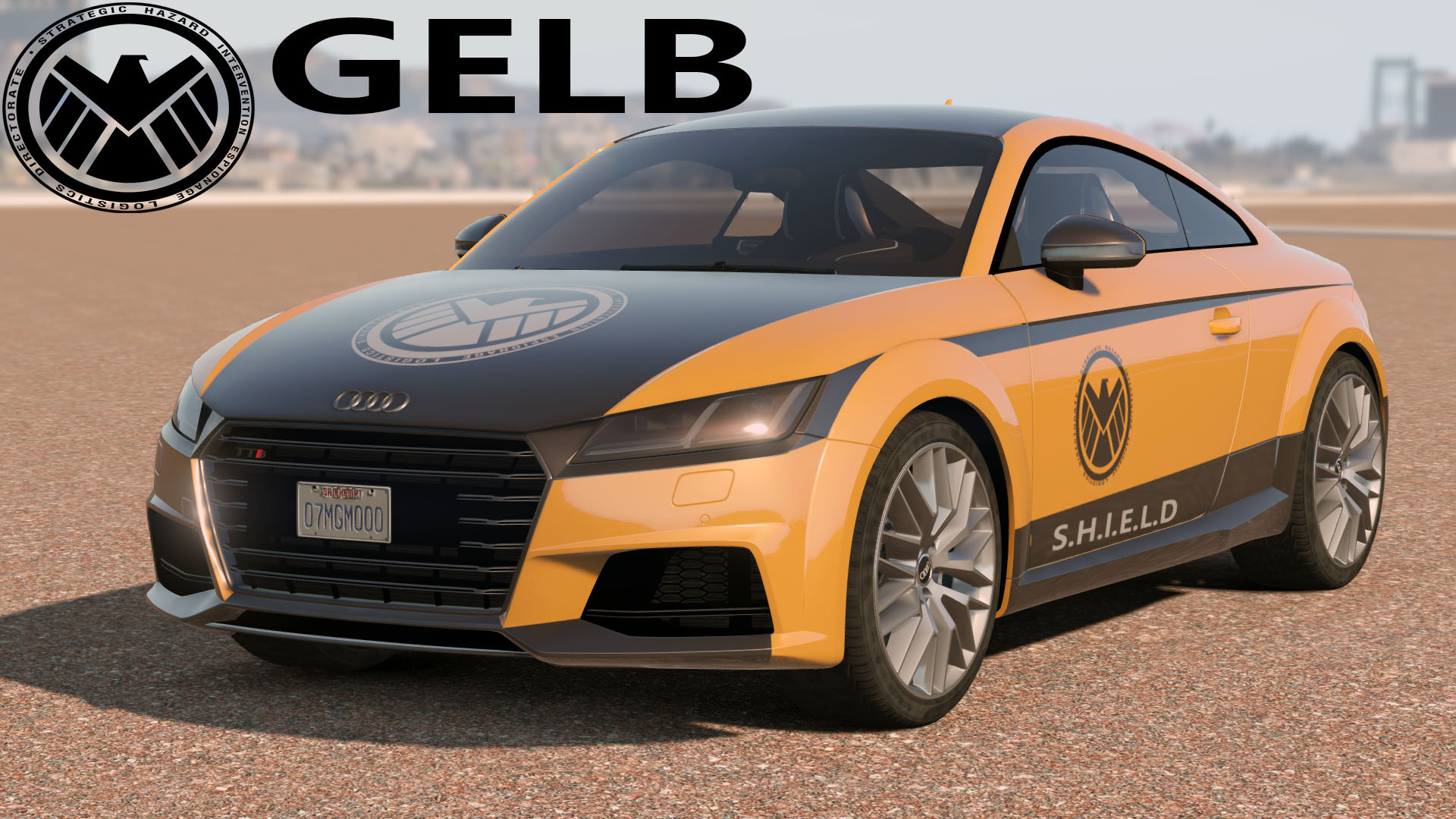 2015 Audi Tts The Avengers Livery Gta5 Mods Com