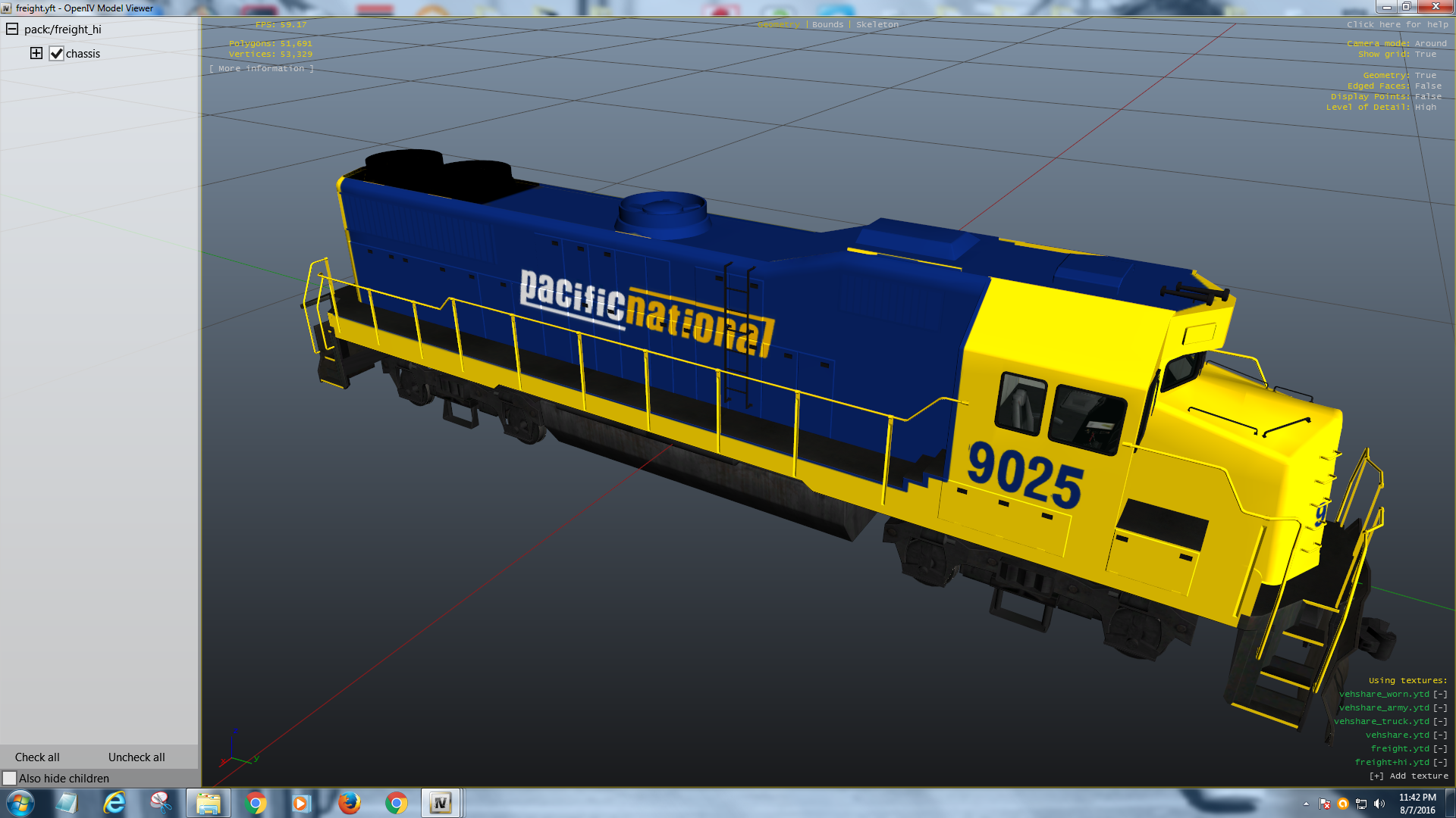 Australian Pacific National Train Skin - GTA5-Mods com