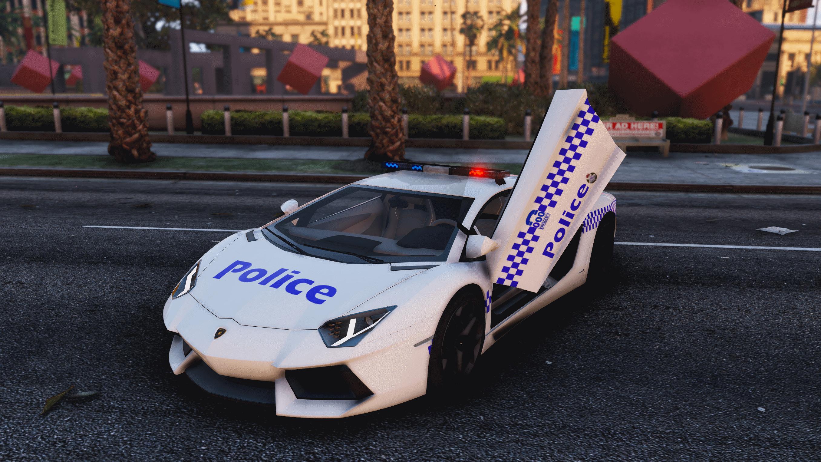Australian Police Lamborghini Skin Victoria Gta5 Mods Com