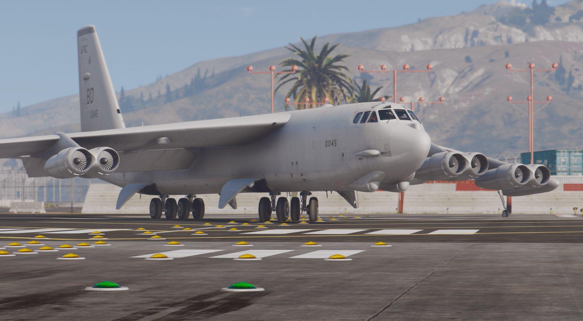 B 52h stratofortress heavy bomber add on gta5 for B b com
