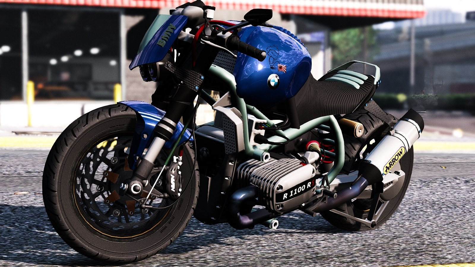 bmw r 1100r street fighter add on replace animated gta5. Black Bedroom Furniture Sets. Home Design Ideas
