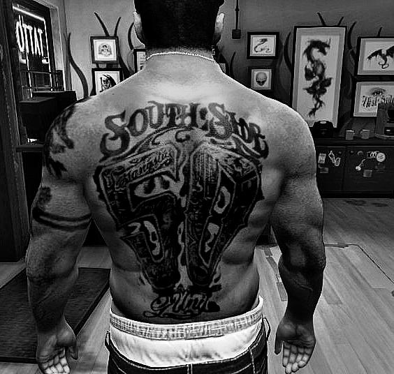 All 50 Cent Tattoos For Franklin [FINAL] - GTA5-Mods.com