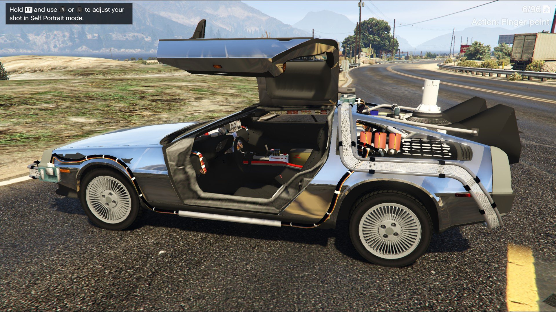 back to the future delorean time machine 3 car pack gta5. Black Bedroom Furniture Sets. Home Design Ideas