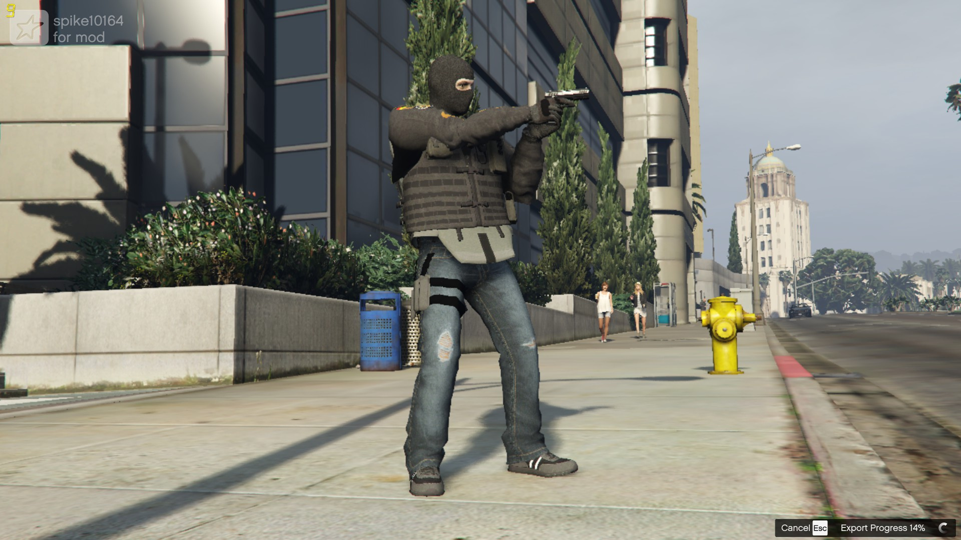 bandit from rainbow 6 siege gta5 mods com