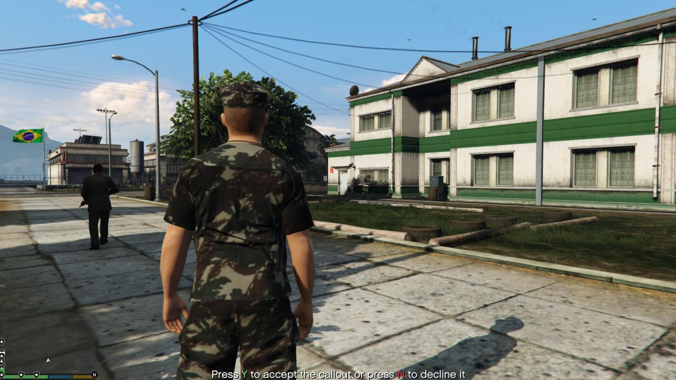 Brazilian Military Base Militar Brasileira Gta5 Mods Com