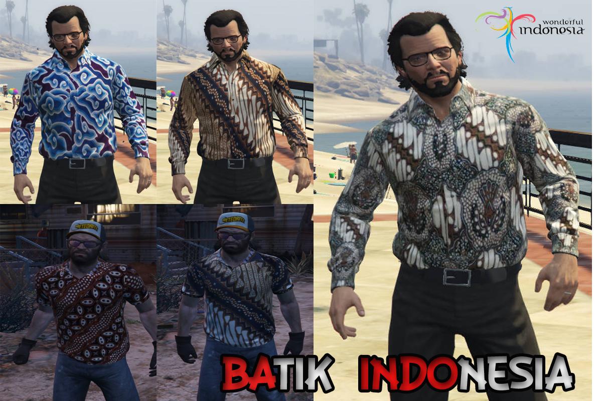 Indonesian Batik Gta5 Mods Com