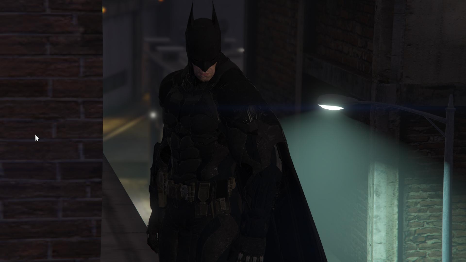 how to change skin batman arkham knight