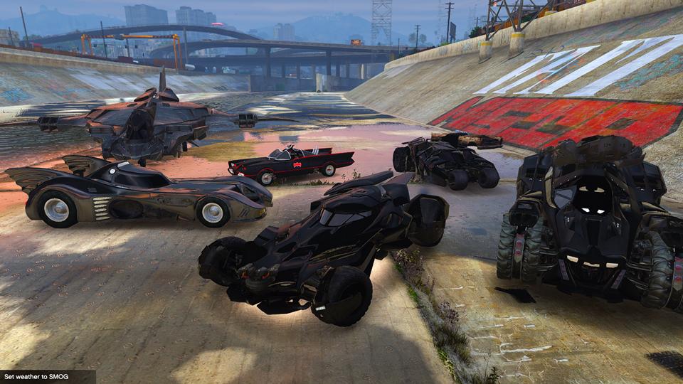 Batman Vehicles Add-On Pack (9) - GTA5-Mods.com