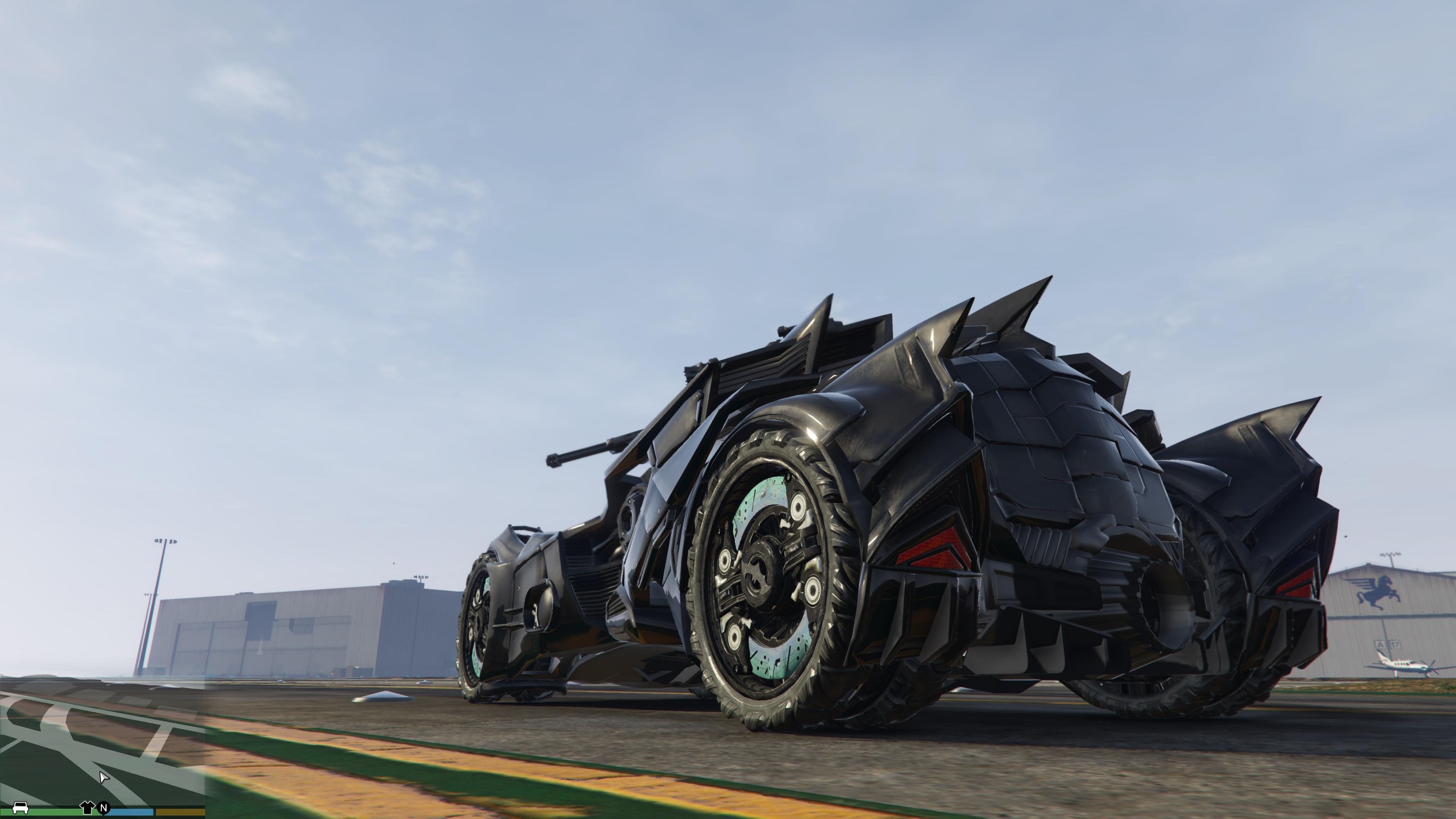 How To Get Batman Car In Gta