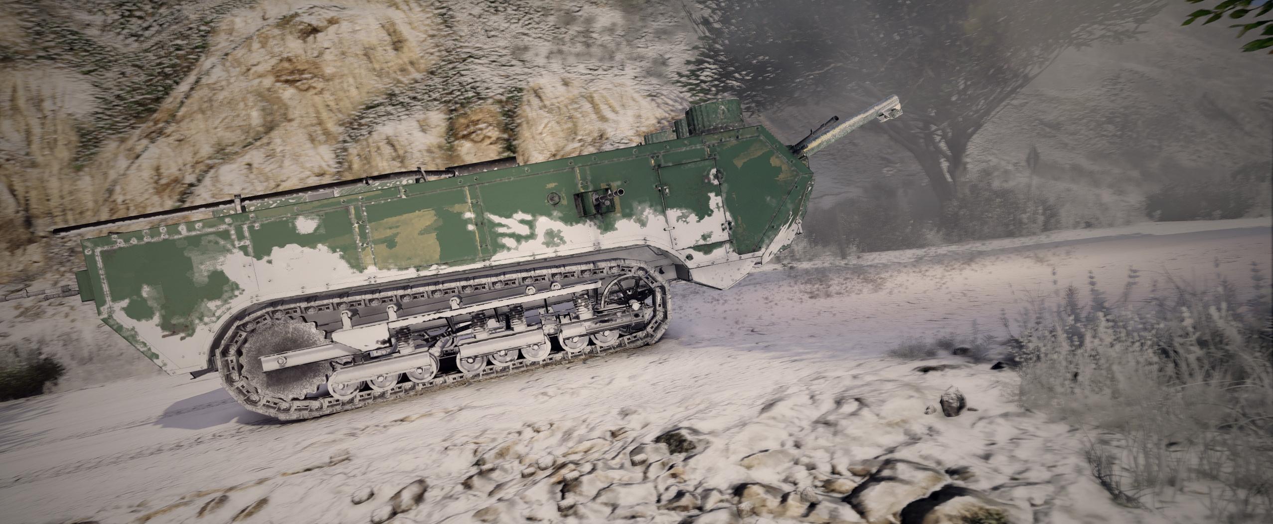 Battlefield 1 Tanks [Add-On] - GTA5-Mods com