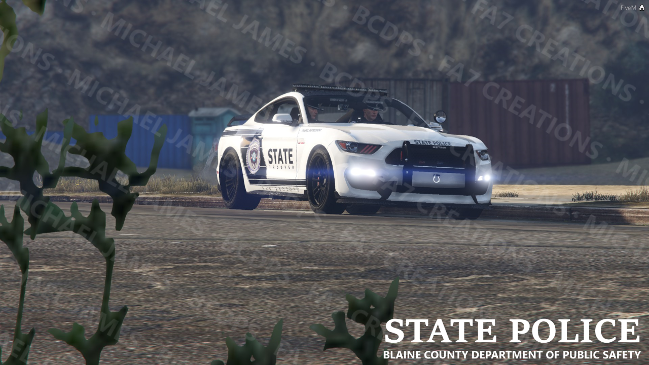 BCDPSRP State Police Background Pack 1 - GTA5-Mods com