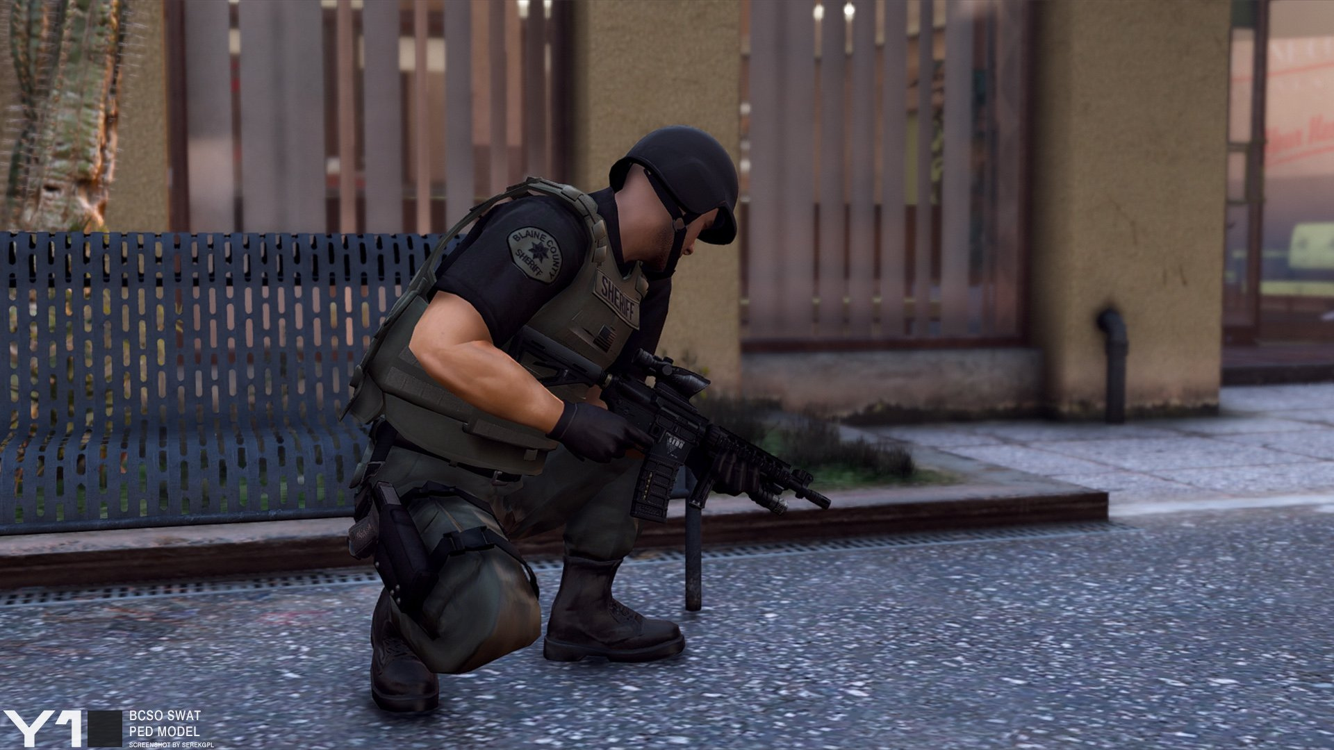 BCSO SWAT Ped Model - GTA5-Mods com