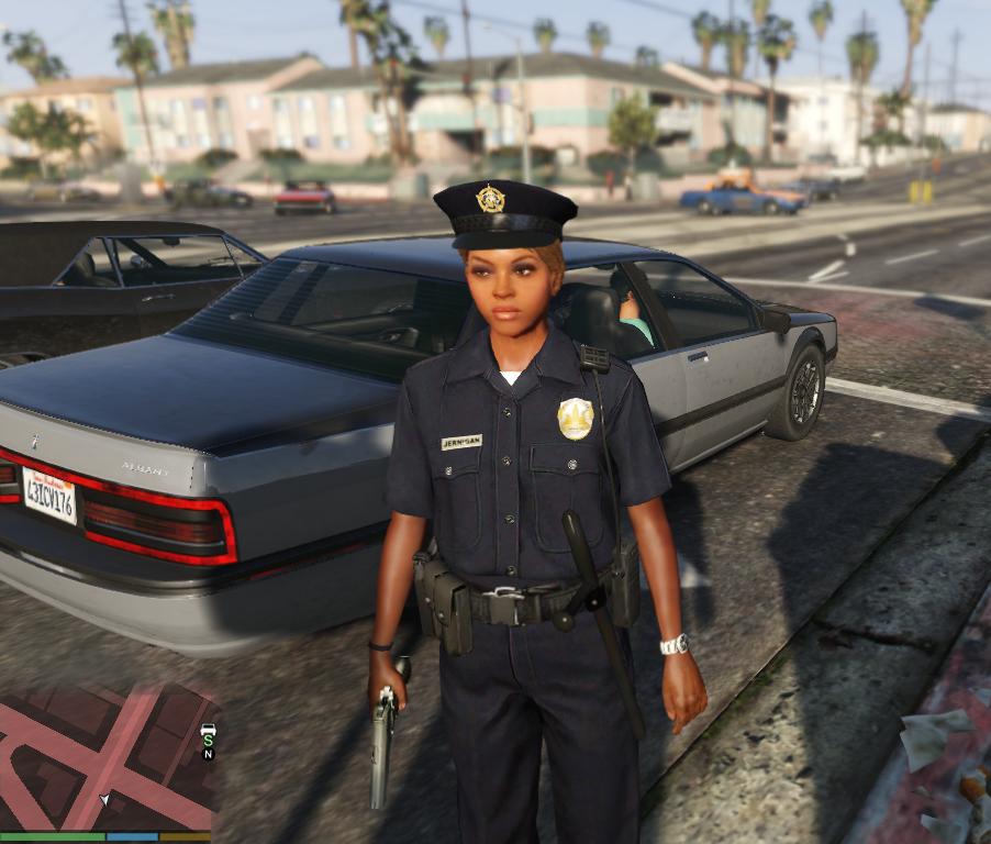 Beautiful Faces for Female Cop - GTA5-Mods.com