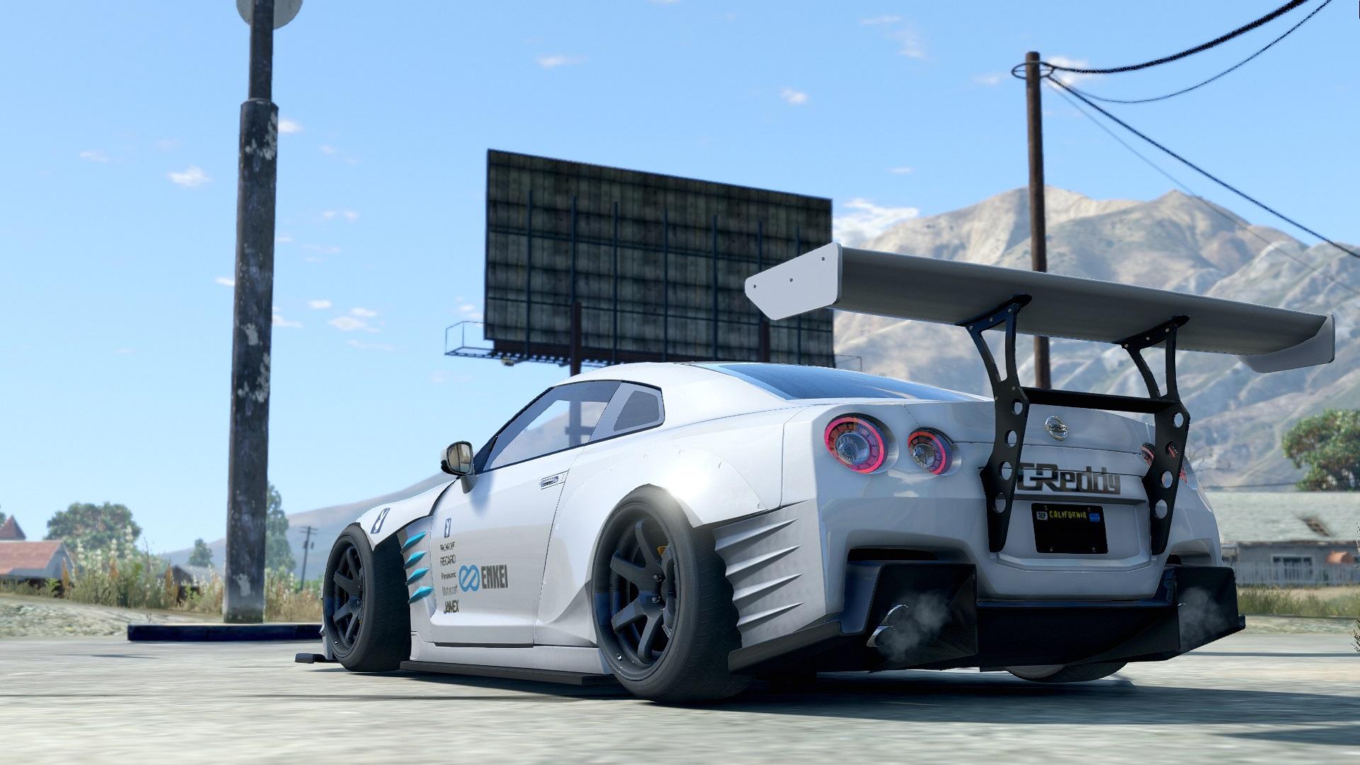 Ben Sopra Nissan Gtr Drift Handling Liveries Gta5 Mods Com