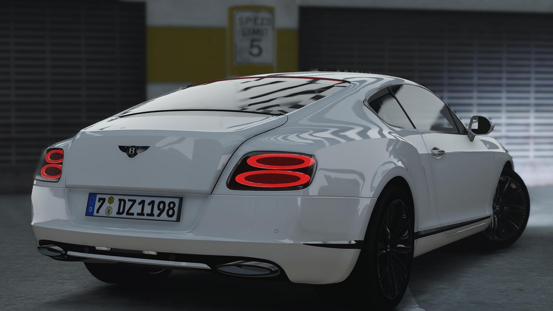 2014 Bentley Continental GT GTA5 Mods