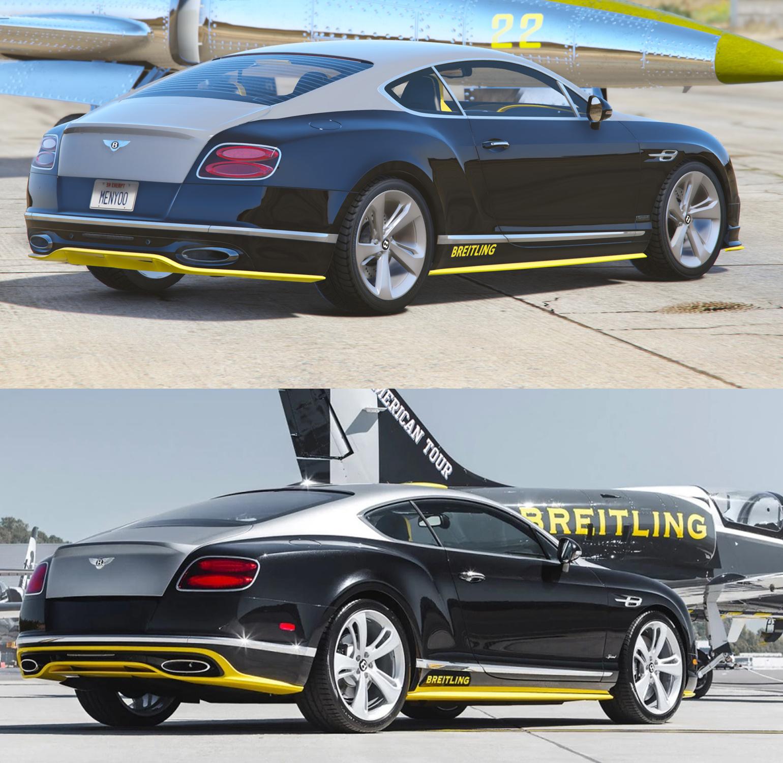 Bentley Continental GT Breitling Jet Team [Add-On